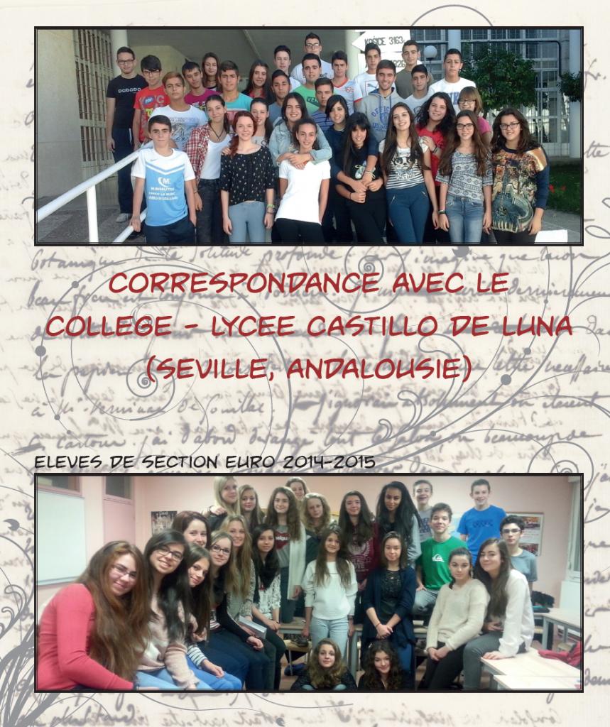 Correspondencia Lycee-Castillo Luna