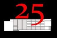 LOGO 25 ROJO-NEGRO