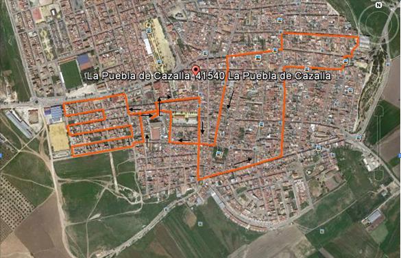 RECORRIDO 5 Km